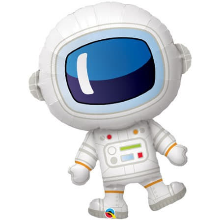 37 Inch Super Shape Space Astronaut Foil Balloon I Space Party Decorations I My Dream Party Shop UK