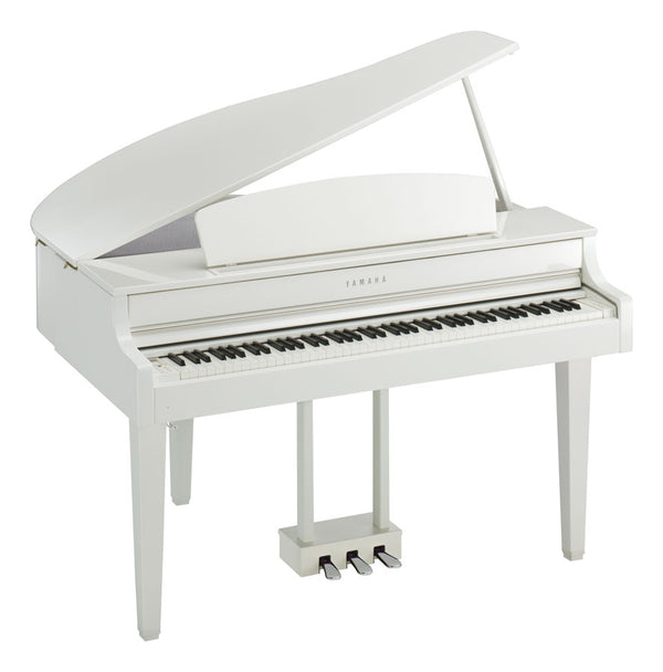 Clavinova CLP 765 Grand Piano - White Polish