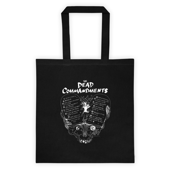 Dead Commandments Tote Bag