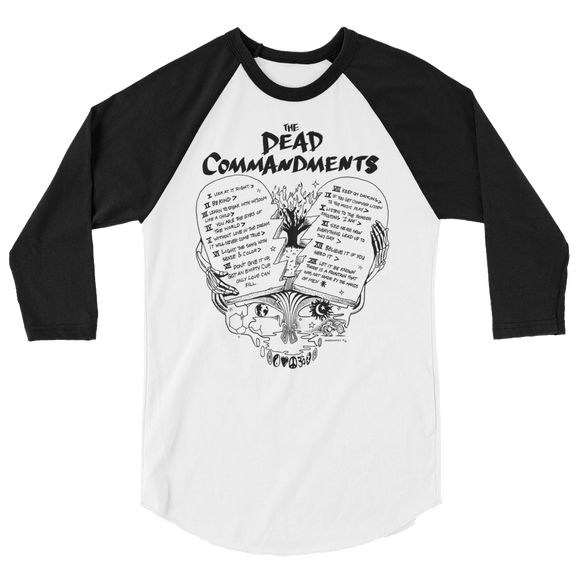 Dead Commandments Baseball Tee
