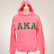 Load image into Gallery viewer, AKA 1908 Pink Hoodie Sweatshirt