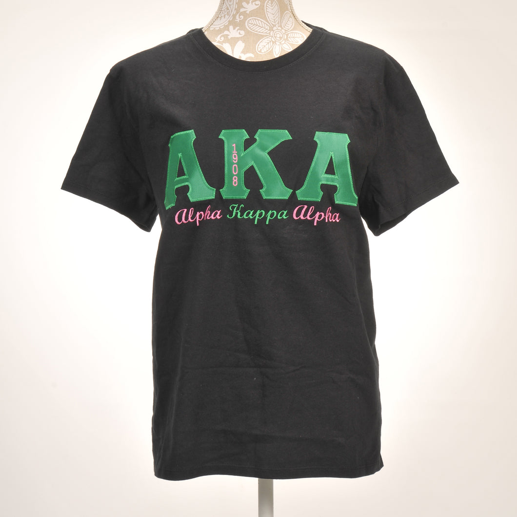 AKA Ladies  Applique Cotton Shirt