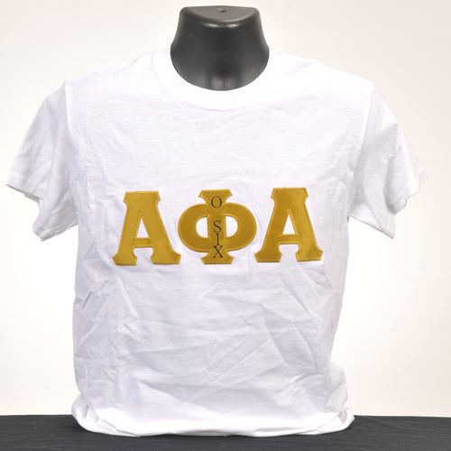 Alpha Phi Alpha Men's Applique Shirt