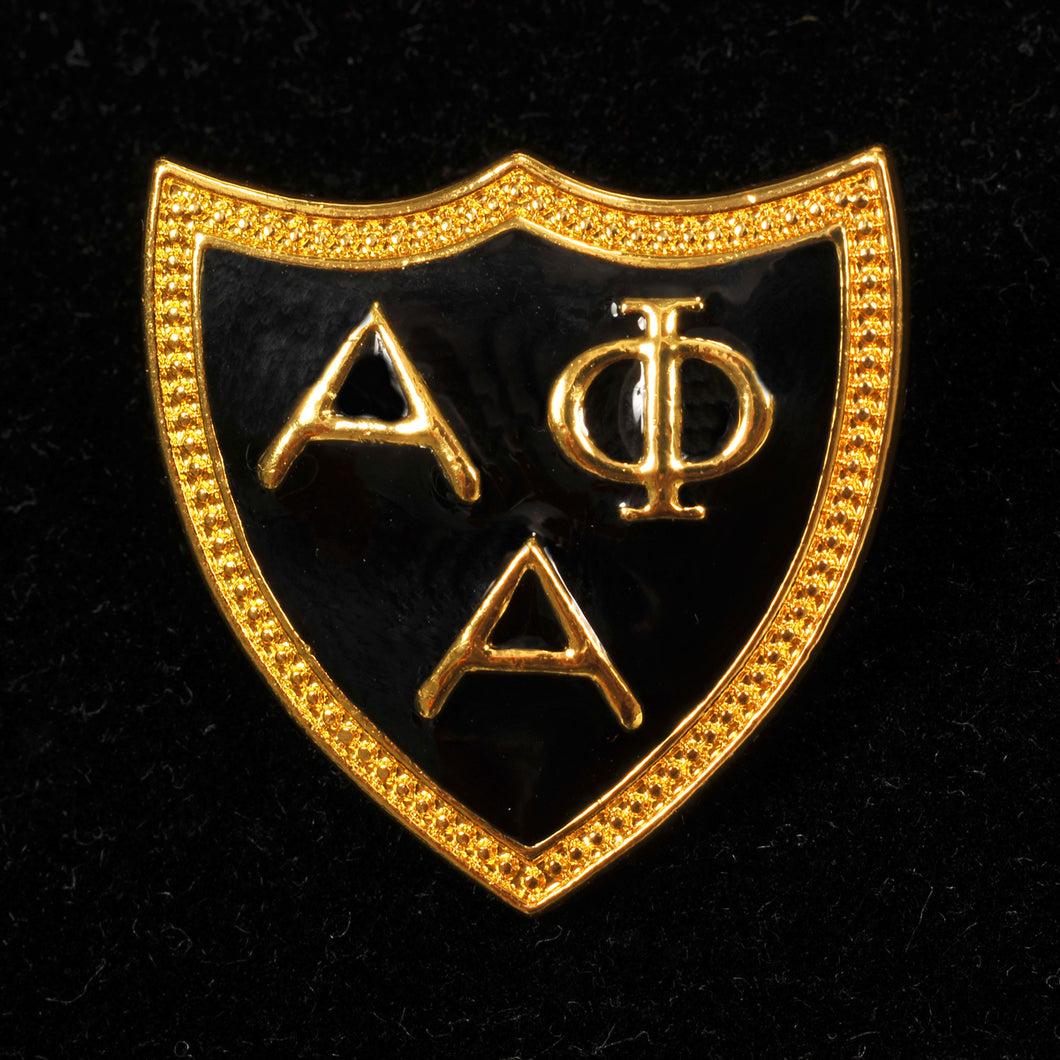 Alpha Phi Alpha Triangle Jewelry Pin