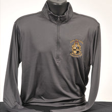 Load image into Gallery viewer, Alpha Phi Alpha Solid Color Men's Dry Fit Quarter Zip Pullover