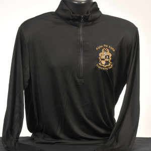 Kappa Alpha Psi Solid Color Dry Fit Quarter Zip Pullover