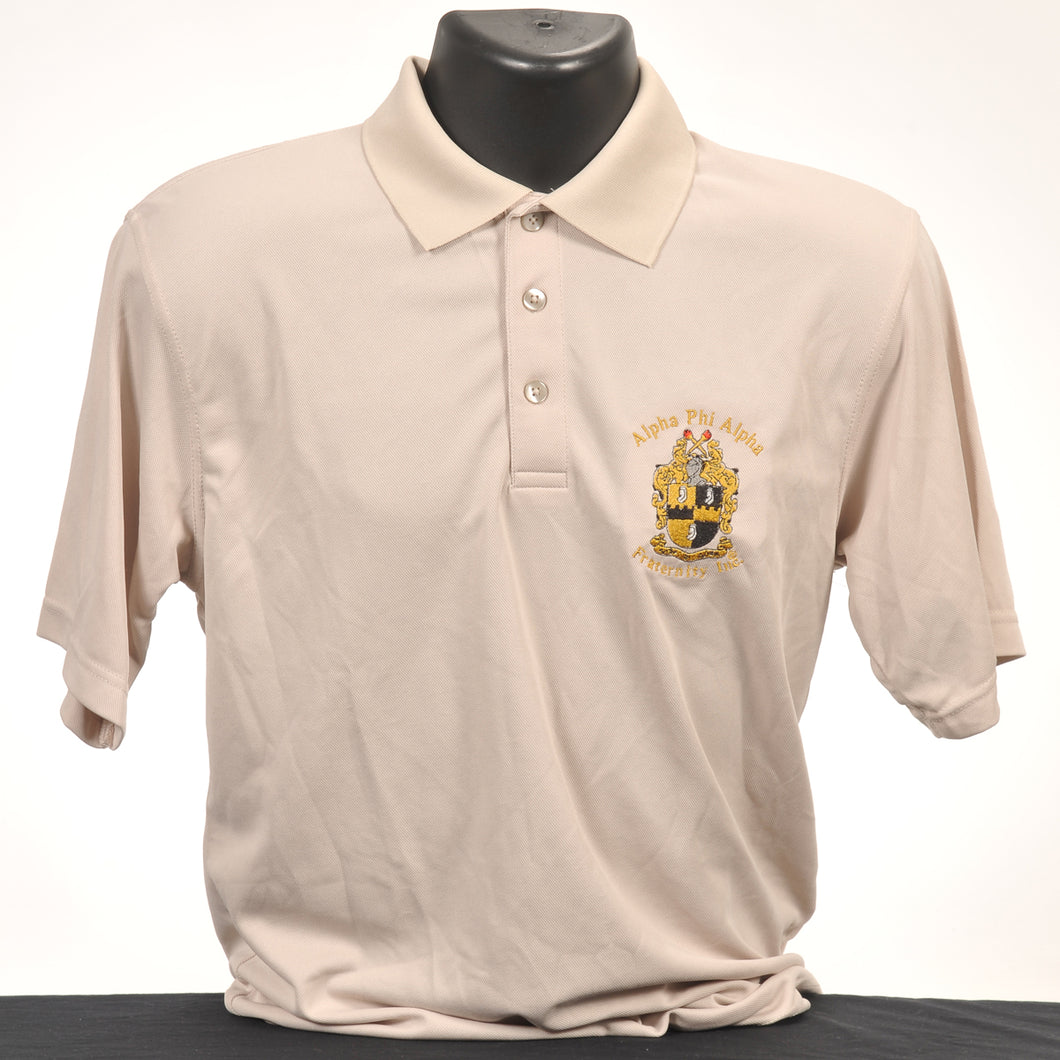 Alpha Phi Alpha Men's Micro Dry Fit Polo
