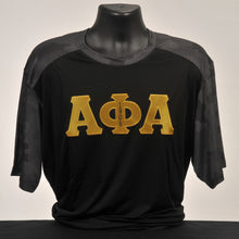 Load image into Gallery viewer, Alpha Phi Alpha Men's Two Tone Dry Fit Shirt