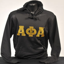 Load image into Gallery viewer, Alpha Phi Alpha Men's Dry Fit Fleece Hoodie