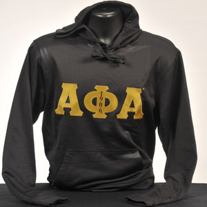 Alpha Phi Alpha Men's Dry Fit Hoodie Sweatshirt