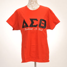 Load image into Gallery viewer, Delta Sigma Theta Applique Shirt