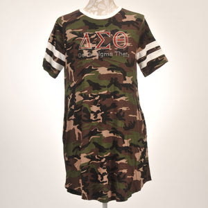 Delta Sigma Theta Sorority Incorporated Ladies Camo Dress