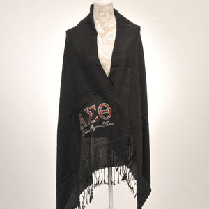 Delta Sigma Theta Sorority Incorporated Pashima Scarf