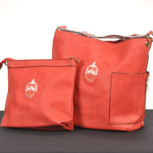 Delta Sigma Theta Cross Body and Large Purse Set