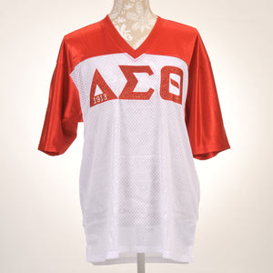 Delta Sigma Theta Sorority Incorporated Red and White Jersey