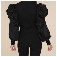 Load image into Gallery viewer, Sally Long Dramatic Sleeve Top