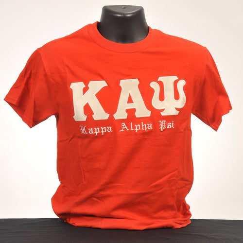 Kappa Alpha Psi Men's Red Cotton Tee