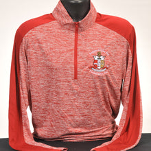 Load image into Gallery viewer, Kappa Alpha Psi Red Dry Fit Quarter Zip Pullover