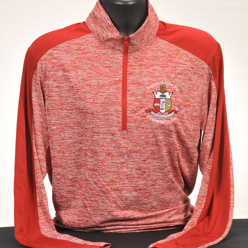 Kappa Alpha Psi Dry Fit Quarter Zip Pullover