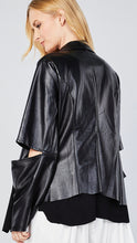 Load image into Gallery viewer, Mindy Vegan Leather Jacket