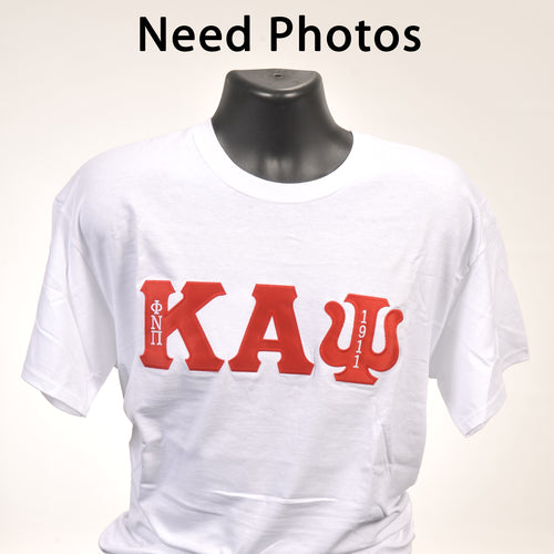 Kappa Alpha Psi Red Old School Camo Shirt