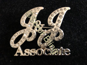 Jack and Jill Associate Rhinestone Pin