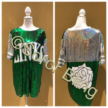 Load image into Gallery viewer, LINKS Inc. Sequin Jersey