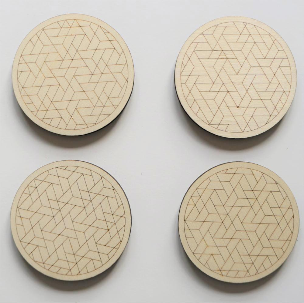 Geometric coasters New Zealand