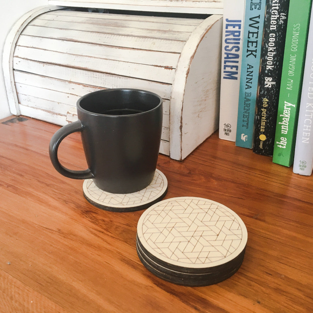 Custom made coasters