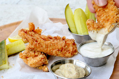 Keto Chick-fil-A Style Fried Chicken Tenders