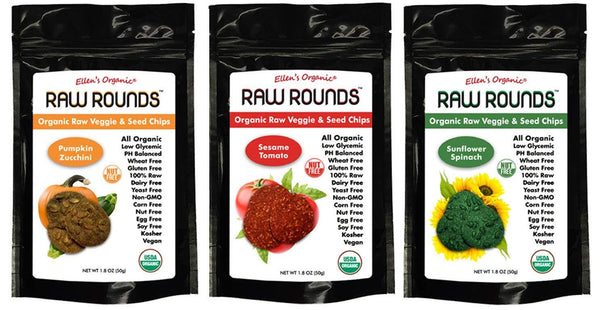 Ellens Organics Raw Rounds - Keto Snacks