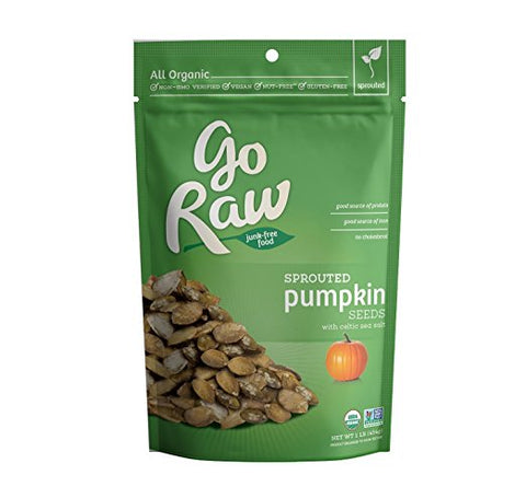 Go Raw Sprouted Pumpkin Seeds - Keto Snacks