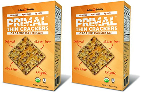 Julian Bakery Primal Crackers - Keto Snacks