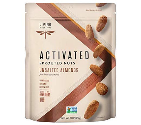 Living Intentions Sprouted Almonds - Keto Snacks