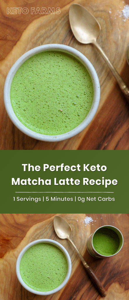 The Perfect Keto Matcha Latte Recipe