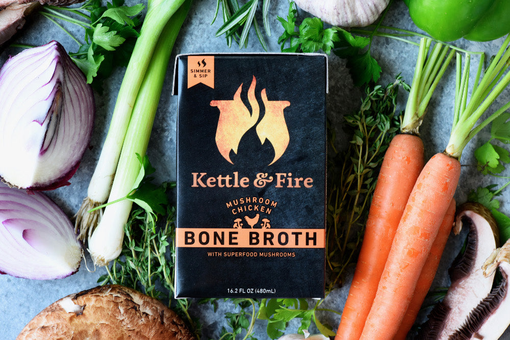Kettle & Fire Bone Broth - Keto Snacks