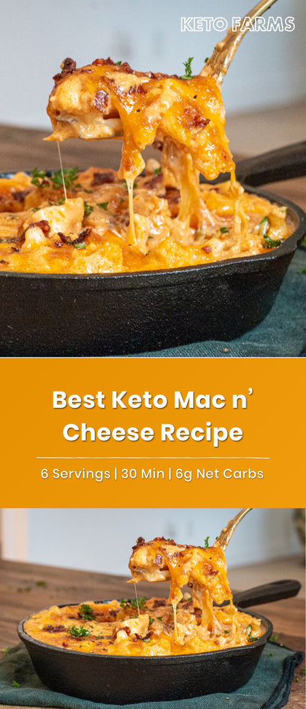 Cauliflower Mac and Cheese Keto