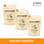 Keto Trail Mix, Bacon Cheddar