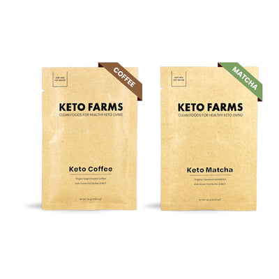 Keto Beverages, Variety Pack