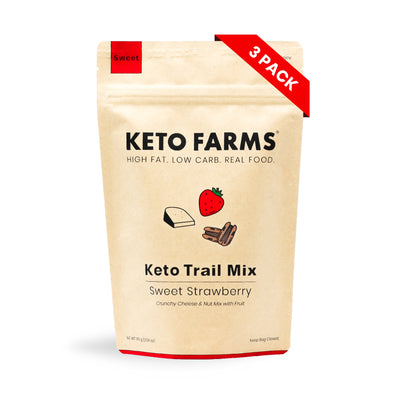 Keto Trail Mix, Sweet Strawberry