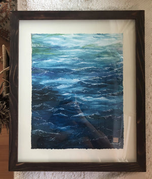Deep Waters • Giclée of Original Watercolor