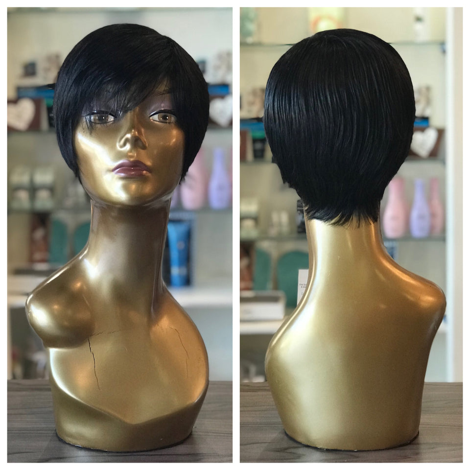 Eurasian Wefted Wig - Pixie Style - bellazara-hair-boutique