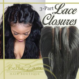 Lace Closures (3-Part)