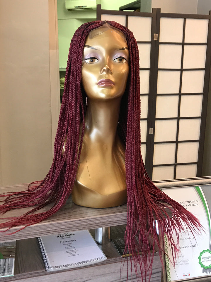 - bellazara-hair-boutique - Braided Wig in Plum