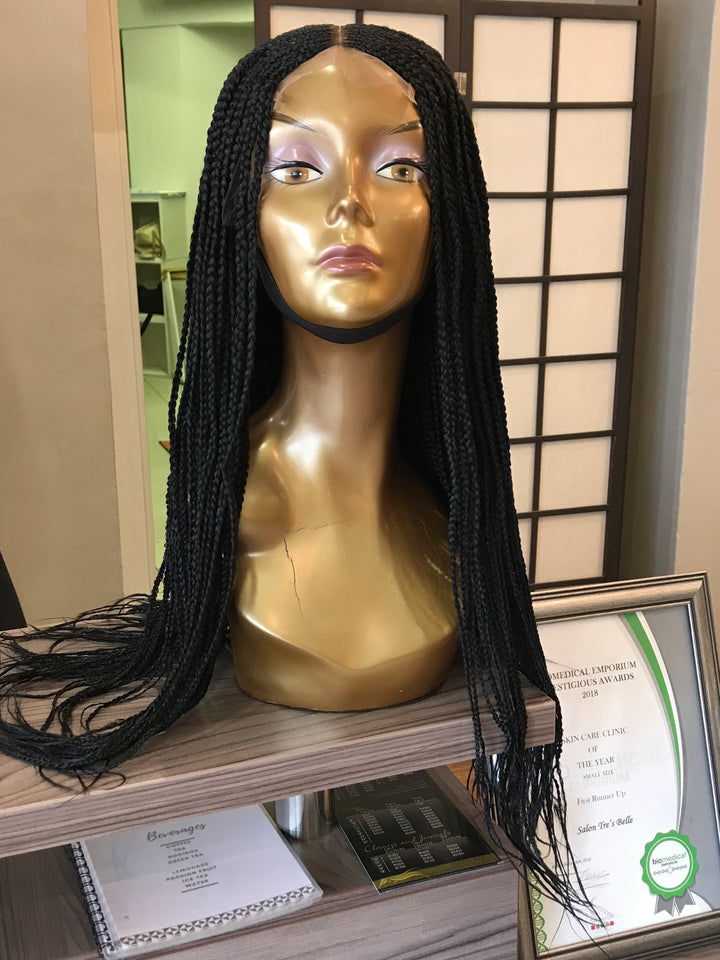 - bellazara-hair-boutique - Braided Wig - Black
