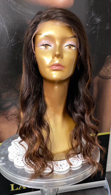 "12"" Brazilian Lace Front with a bang - bellazara-hair-boutique"