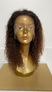 "14"" Peruvian Ombré Curly Lace Wig"