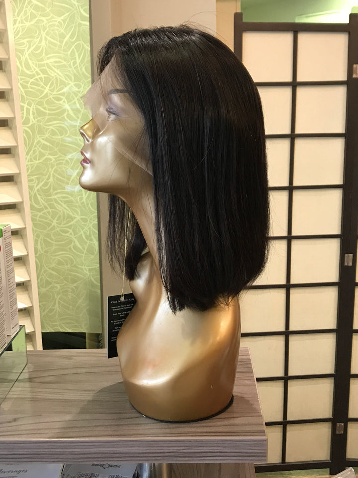 "- bellazara-hair-boutique - 8"" Brazilian Lace Wig Straight"