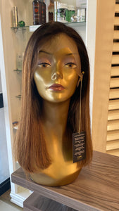 "16"" Brazilian Lace Wig in Ombre"