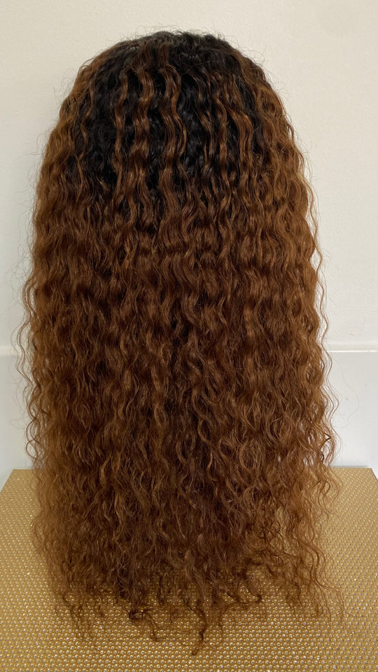 "18"" Ombré Head Band Wig"